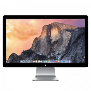 """Thunderbolt Display 27"""", Product age: 57 months"""