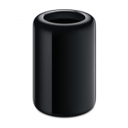 Mac Pro Black, 3.7 GHz Quad-Core Intel Xeon E5, 12 GB 1866 MHz DDR3, 256 GB PCle-based SSD, Product age: 7 months