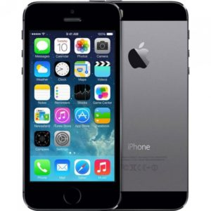 iPhone 5S, 16 GB, Black, Product age: 41 months