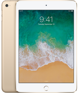 iPad Mini 4 (Wi-Fi), 128 GB, Gold, Product age: 8 months
