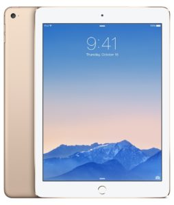 iPad Air 2 (Wi-Fi), 32 GB, Gold, Product age: 9 months