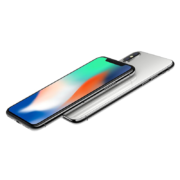iPhone X 64GB, 64GB, Silver, Product age: 8 months