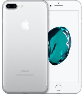 iPhone 7 Plus 128GB, 128 GB, Silver, Product age: 22 months
