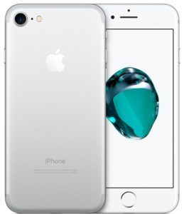 iPhone 7 128GB, 128 GB, Silver, Product age: 29 months