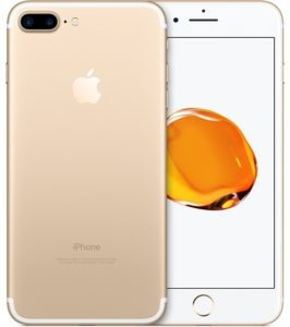 iPhone 7 Plus 32GB, 32 GB, Gold