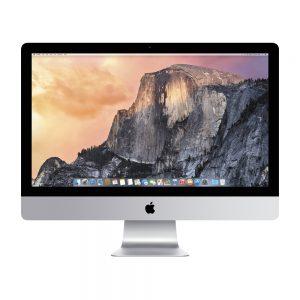 "iMac 27"" Retina 5K Late 2015 (Intel Quad-Core i7 4.0 GHz 32 GB RAM 2 TB Fusion Drive), Intel Quad-Core i7 4.0 GHz, 32 GB RAM, 2 TB Fusion Drive"