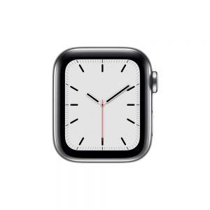 Watch Series 5 Steel Cellular (44mm), Silver