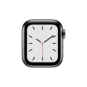 Watch Series 5 Steel Cellular (40mm), Space Black