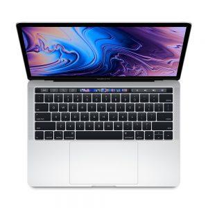 "MacBook Pro 13"" 4TBT Mid 2019 (Intel Quad-Core i5 2.4 GHz 8 GB RAM 256 GB SSD), Silver, Intel Quad-Core i5 2.4 GHz, 8 GB RAM, 256 GB SSD"
