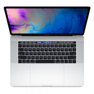 """MacBook Pro 15"""" Touch Bar Mid 2018 (Intel 6-Core i7 2.6 GHz 16 GB RAM 512 GB SSD), Silver, Intel 6-Core i7 2.6 GHz, 16 GB RAM, 512 GB SSD"""