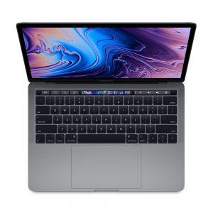 """MacBook Pro 13"""" 4TBT Mid 2019 (Intel Quad-Core i7 2.8 GHz 16 GB RAM 512 GB SSD), Space Gray, Intel Quad-Core i7 2.8 GHz, 16 GB RAM, 512 GB SSD"""