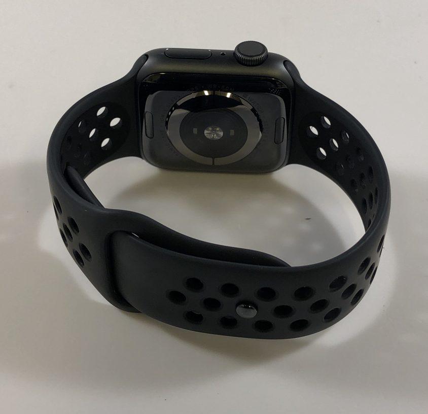 Watch Series 4 Aluminum (40mm), Space Gray, Black Nike Sport Loop, image 3