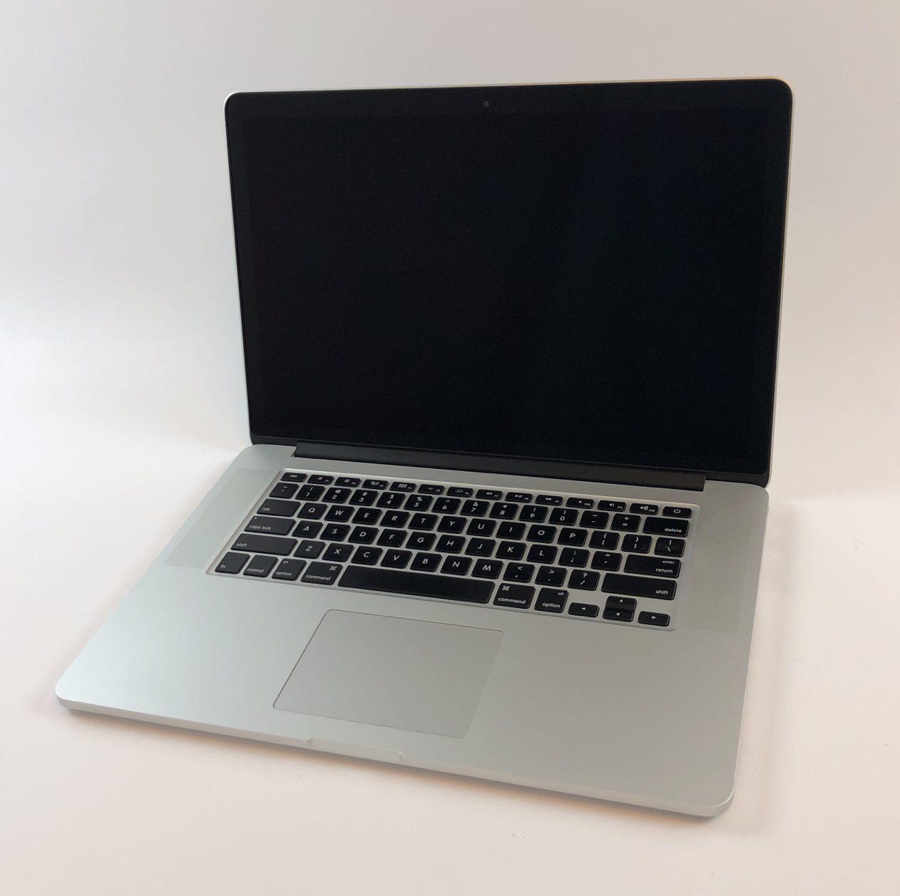 """MacBook Pro Retina 15"""" Mid 2014 (Intel Quad-Core i7 2.2 GHz 16 GB RAM 256 GB SSD), Intel Quad-Core i7 2.2 GHz, 16 GB RAM, 256 GB SSD, image 1"""