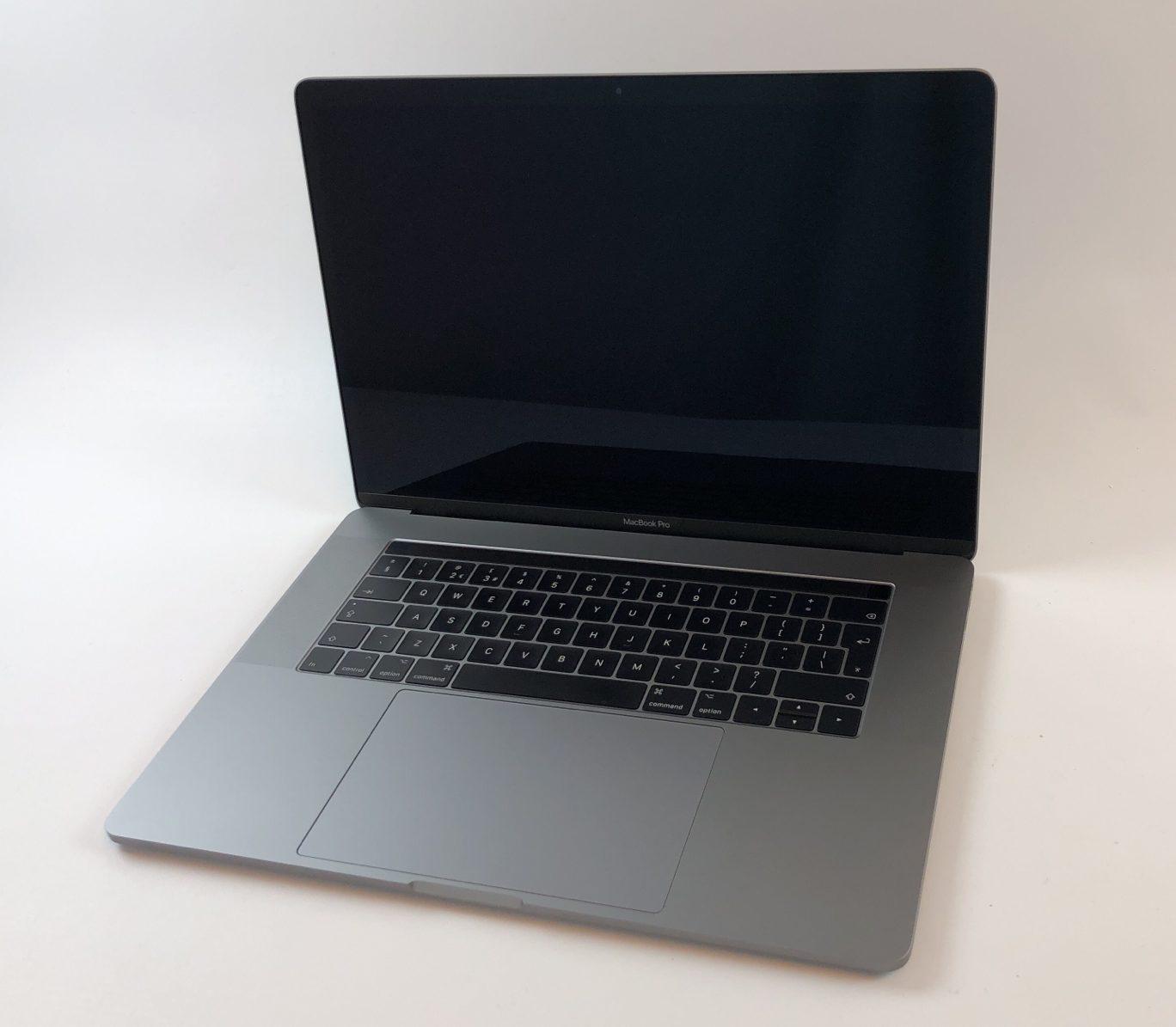 "MacBook Pro 15"" Touch Bar Mid 2017 (Intel Quad-Core i7 2.9 GHz 16 GB RAM 512 GB SSD), Space Gray, Intel Quad-Core i7 2.9 GHz, 16 GB RAM, 512 GB SSD, image 1"