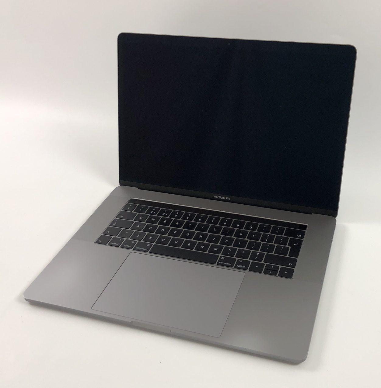 "MacBook Pro 15"" Touch Bar Mid 2017 (Intel Quad-Core i7 2.8 GHz 16 GB RAM 256 GB SSD), Space Gray, Intel Quad-Core i7 2.8 GHz, 16 GB RAM, 256 GB SSD, image 1"
