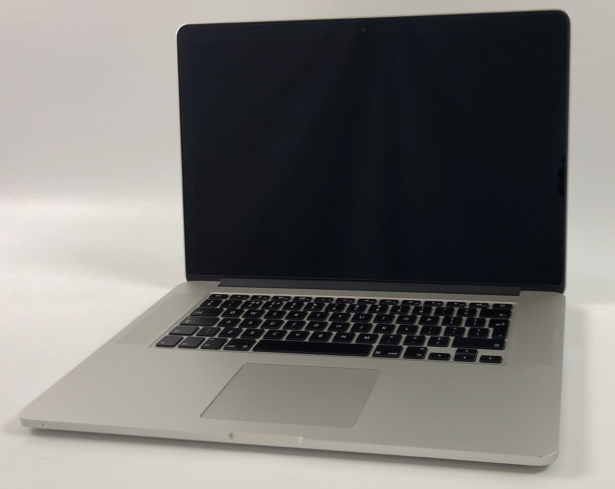 "MacBook Pro Retina 15"" Mid 2015 (Intel Quad-Core i7 2.2 GHz 16 GB RAM 512 GB SSD), Intel Quad-Core i7 2.2 GHz, 16 GB RAM, 512 GB SSD, image 1"