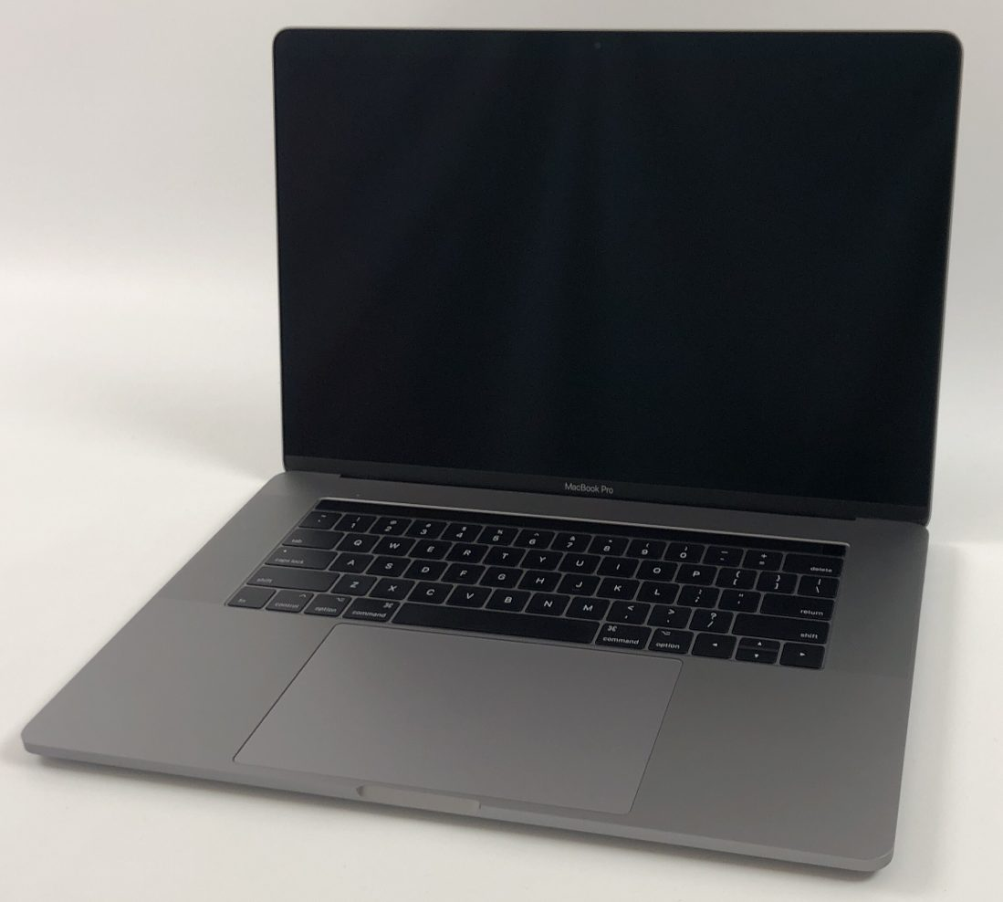 "MacBook Pro 15"" Touch Bar Mid 2017 (Intel Quad-Core i7 3.1 GHz 16 GB RAM 1 TB SSD), Space Gray, Intel Quad-Core i7 3.1 GHz, 16 GB RAM, 1 TB SSD, image 1"