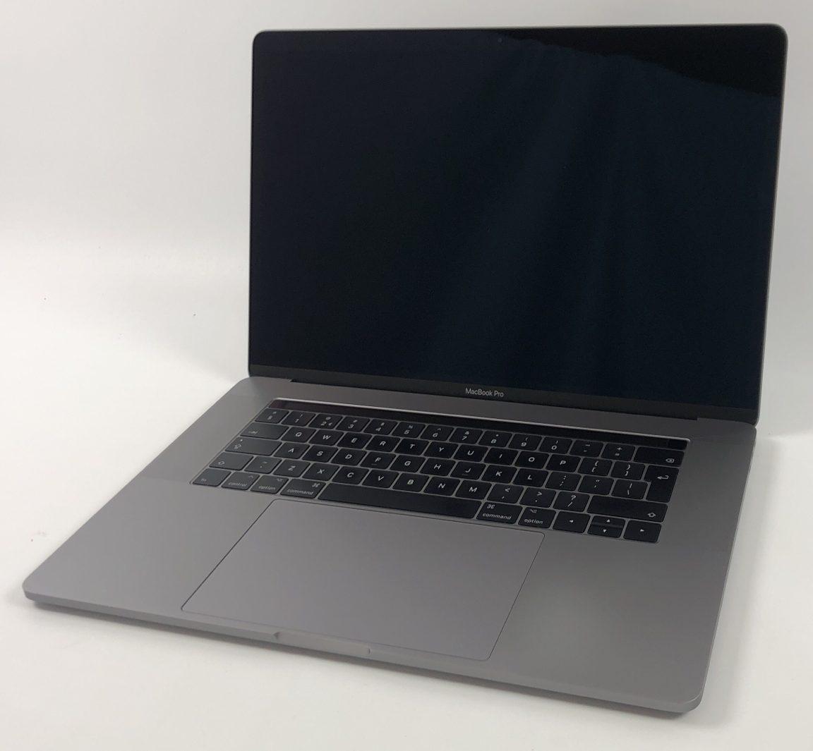 "MacBook Pro 15"" Touch Bar Late 2016 (Intel Quad-Core i7 2.7 GHz 16 GB RAM 512 GB SSD), Space Gray, Intel Quad-Core i7 2.7 GHz, 16 GB RAM, 512 GB SSD, image 1"