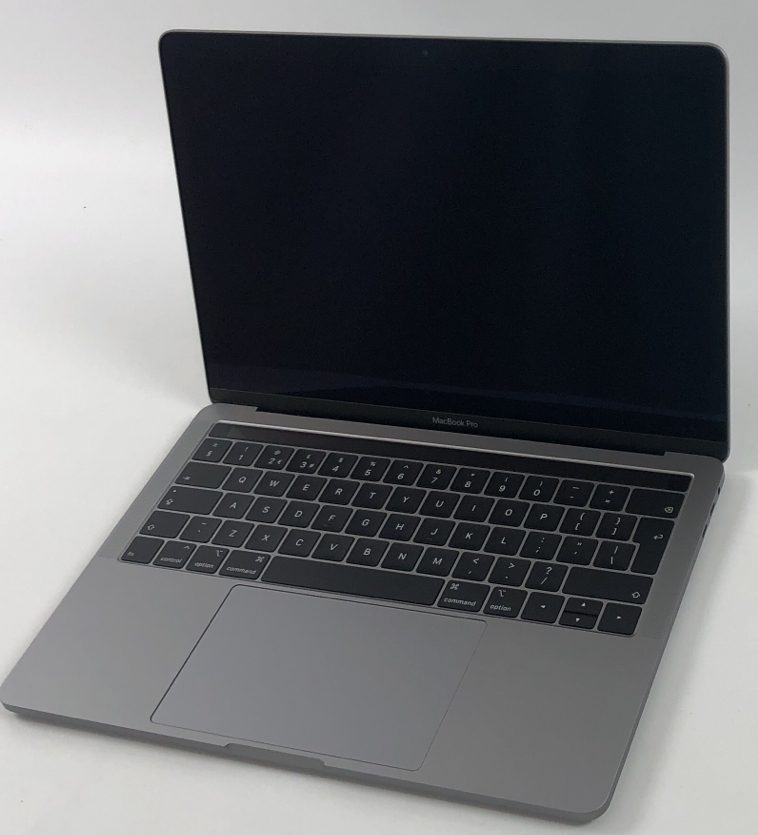 "MacBook Pro 13"" 4TBT Mid 2018 (Intel Quad-Core i5 2.3 GHz 16 GB RAM 256 GB SSD), Space Gray, Intel Quad-Core i5 2.3 GHz, 16 GB RAM, 256 GB SSD, image 1"