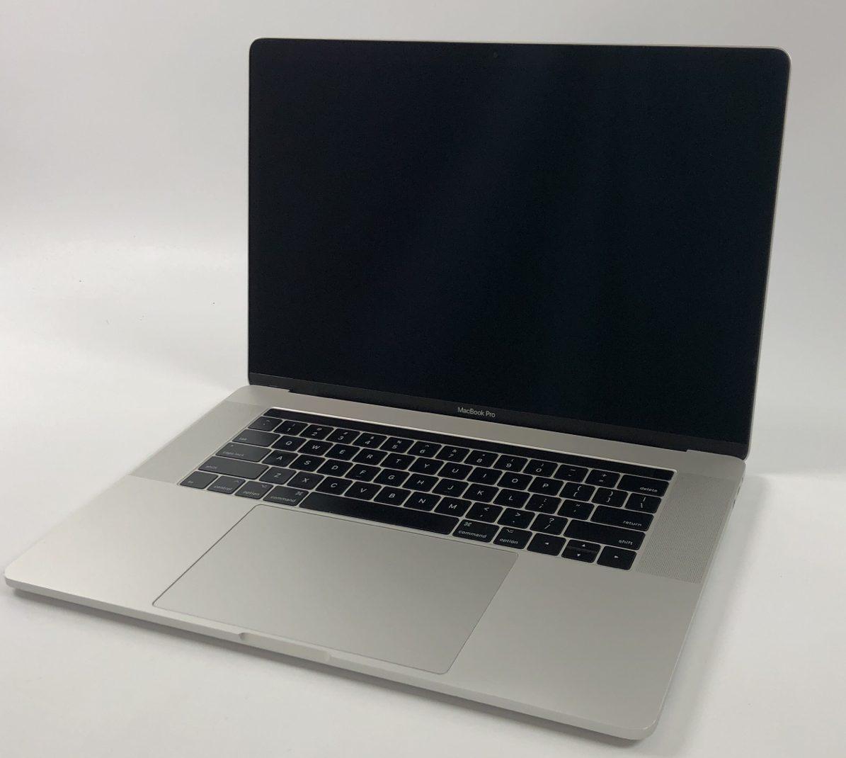 "MacBook Pro 15"" Touch Bar Mid 2017 (Intel Quad-Core i7 3.1 GHz 16 GB RAM 1 TB SSD), Silver, Intel Quad-Core i7 3.1 GHz, 16 GB RAM, 1 TB SSD, image 1"