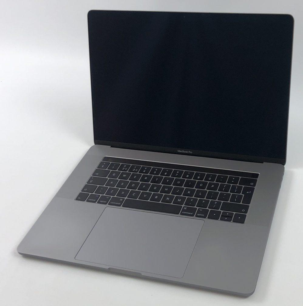 "MacBook Pro 15"" Touch Bar Late 2016 (Intel Quad-Core i7 2.9 GHz 16 GB RAM 512 GB SSD), Space Gray, Intel Quad-Core i7 2.7 GHz, 16 GB RAM, 512 GB SSD, image 1"