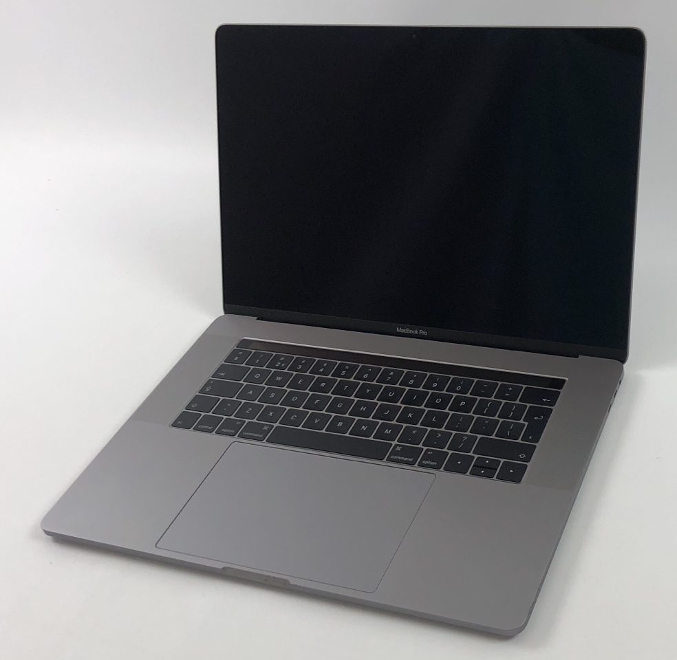 "MacBook Pro 15"" Touch Bar Late 2016 (Intel Quad-Core i7 2.7 GHz 16 GB RAM 512 GB SSD), Space Gray, Intel Quad-Core i7 2.7 GHz, 16 GB RAM, 512 GB SSD, Bild 1"
