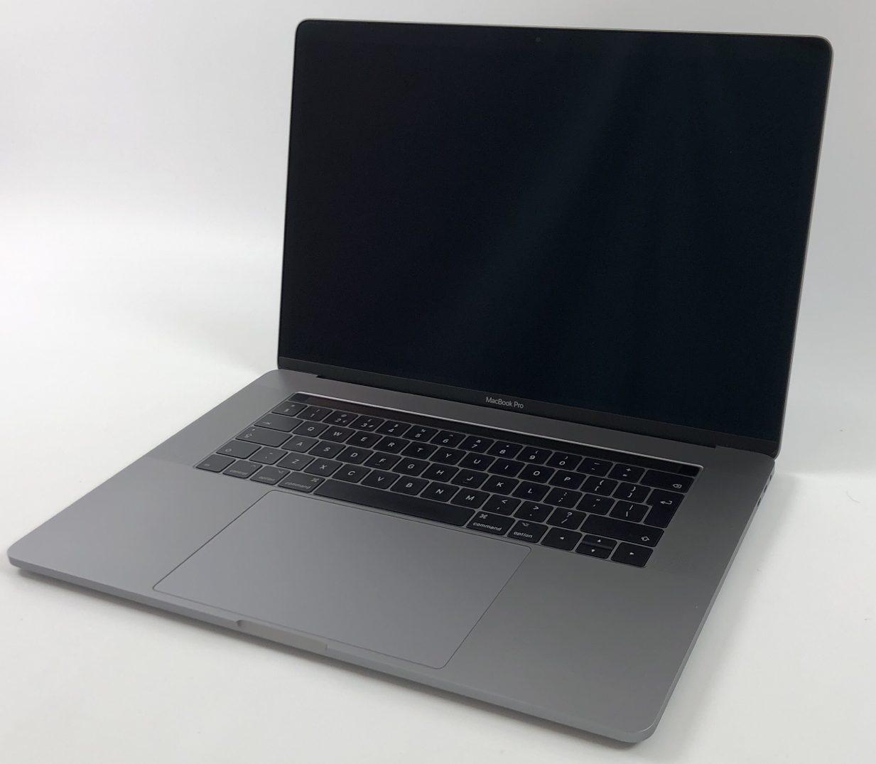 "MacBook Pro 15"" Touch Bar Late 2016 (Intel Quad-Core i7 2.6 GHz 16 GB RAM 256 GB SSD), Space Gray, Intel Quad-Core i7 2.6 GHz, 16 GB RAM, 256 GB SSD, image 1"