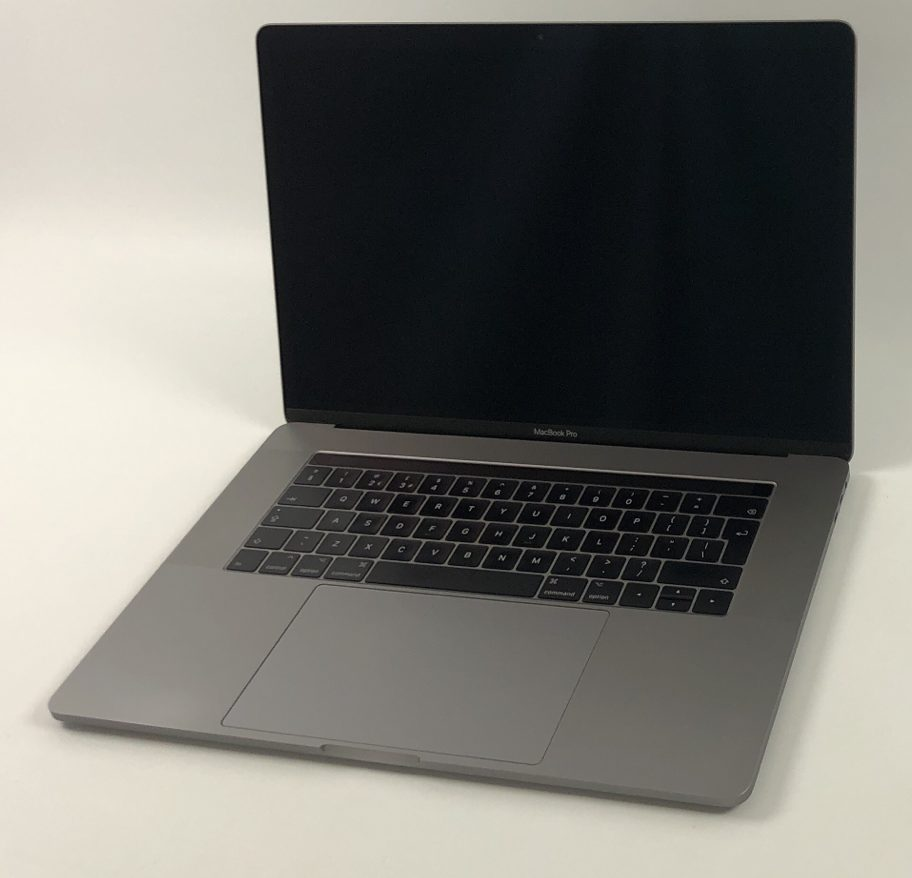 "MacBook Pro 15"" Touch Bar Mid 2017 (Intel Quad-Core i7 2.9 GHz 16 GB RAM 512 GB SSD), Space Gray, Intel Quad-Core i7 2.9 GHz, 16 GB RAM, 512 GB SSD, image 1"