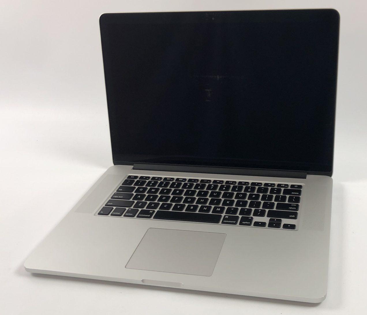 """MacBook Pro Retina 15"""" Mid 2015 (Intel Quad-Core i7 2.2 GHz 16 GB RAM 256 GB SSD), Intel Quad-Core i7 2.2 GHz, 16 GB RAM, 256 GB SSD, image 1"""