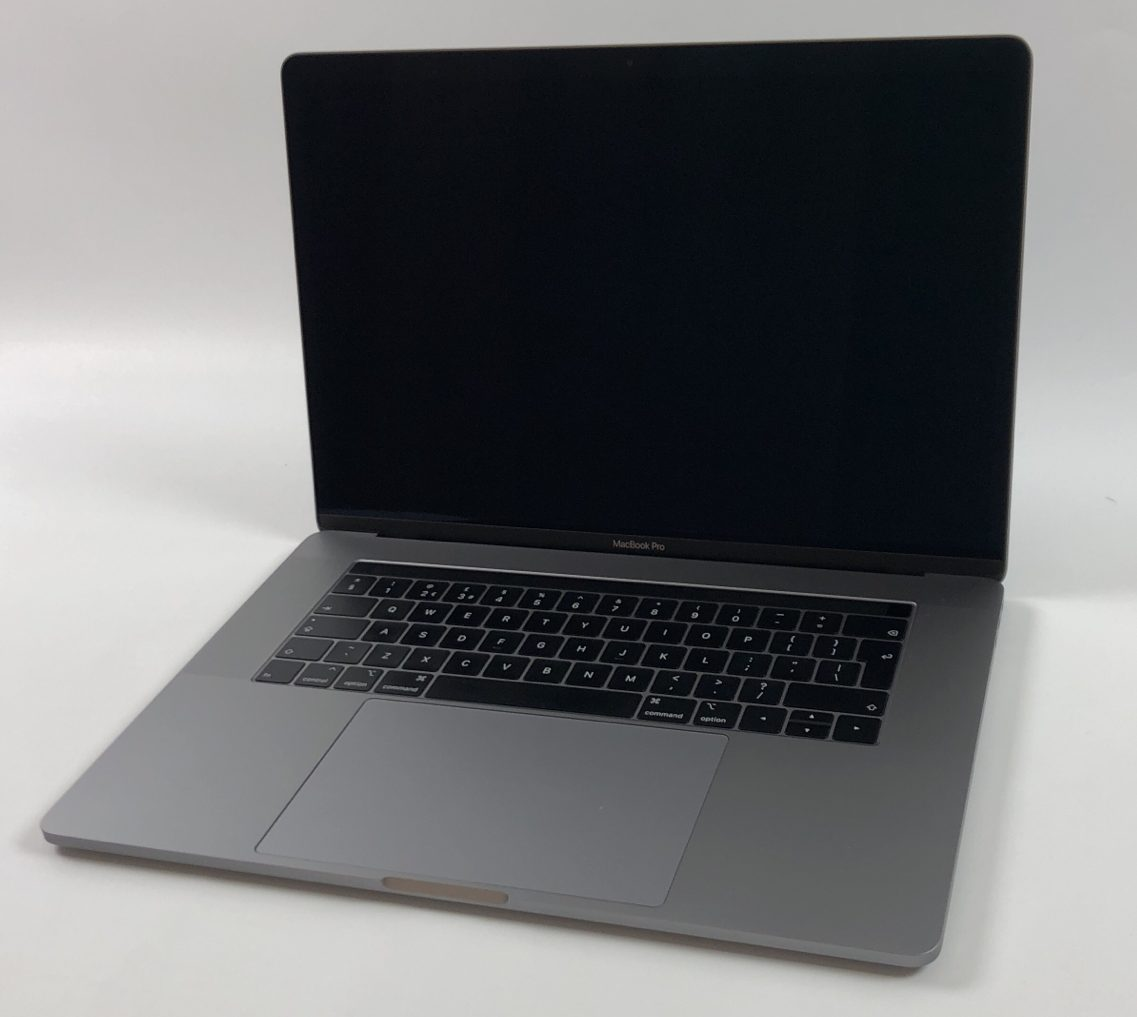 """MacBook Pro 15"""" Touch Bar Mid 2018 (Intel 6-Core i9 2.9 GHz 32 GB RAM 1 TB SSD), Space Gray, Intel 6-Core i9 2.9 GHz, 32 GB RAM, 1 TB SSD, image 1"""