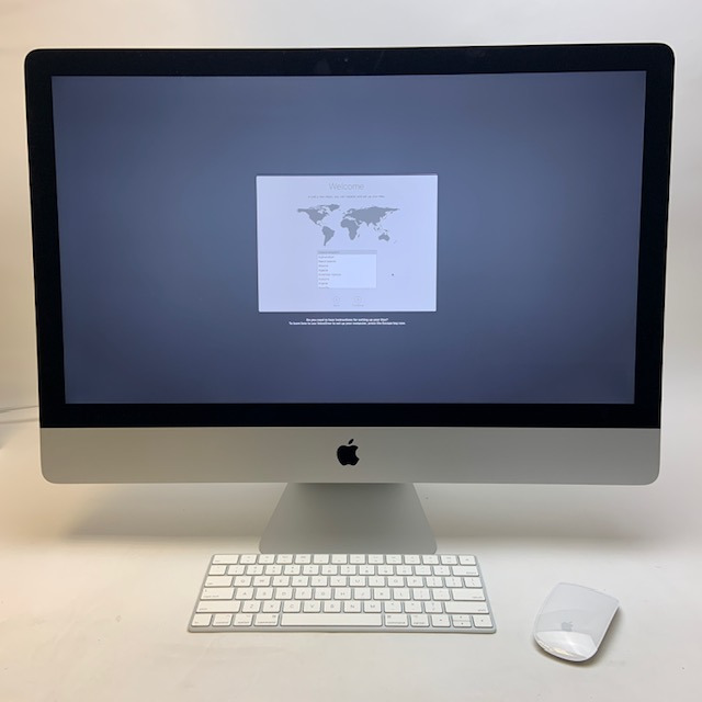 "iMac 27"" Retina 5K Mid 2017 (Intel Quad-Core i7 4.2 GHz 32 GB RAM 1 TB SSD), Intel Quad-Core i7 4.2 GHz, 32 GB RAM, 1 TB SSD, image 1"