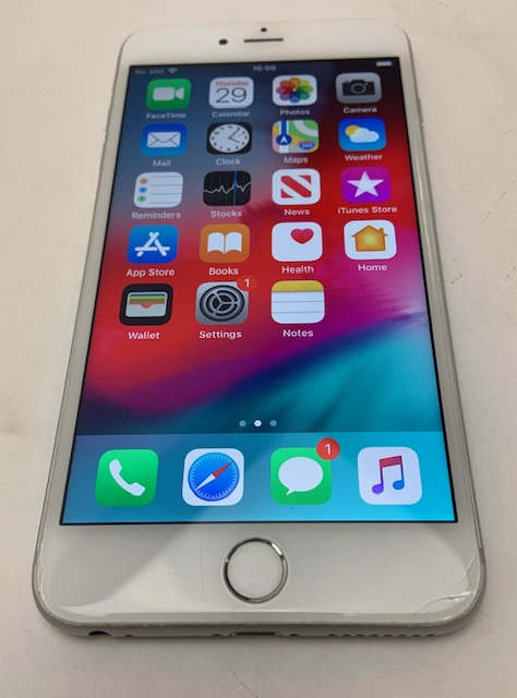 iPhone 6S Plus 128GB, 128GB, Silver, image 1