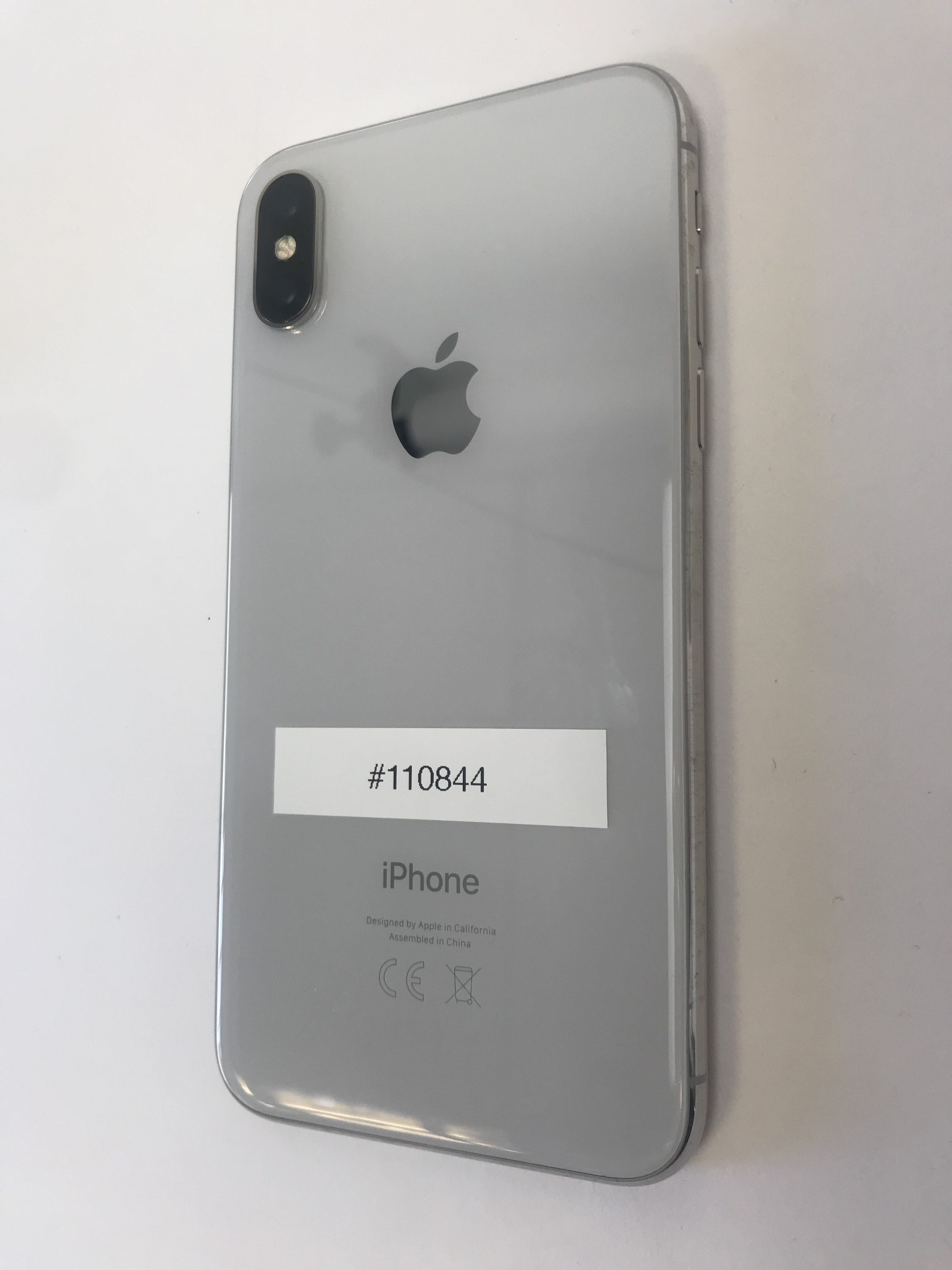 iPhone X 64GB, 64GB, Silver, image 3