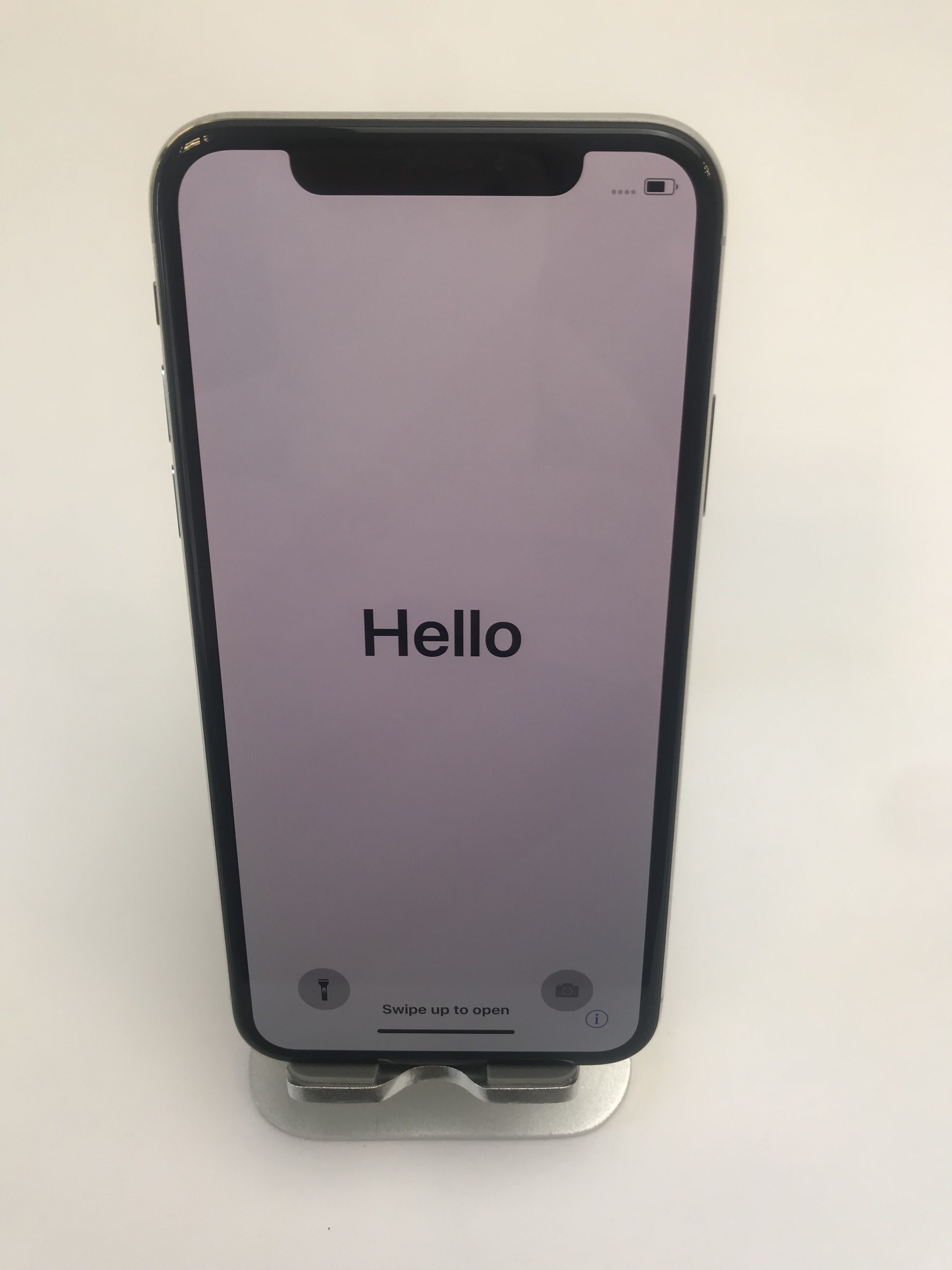 iPhone X 64GB, 64GB, Silver, image 1