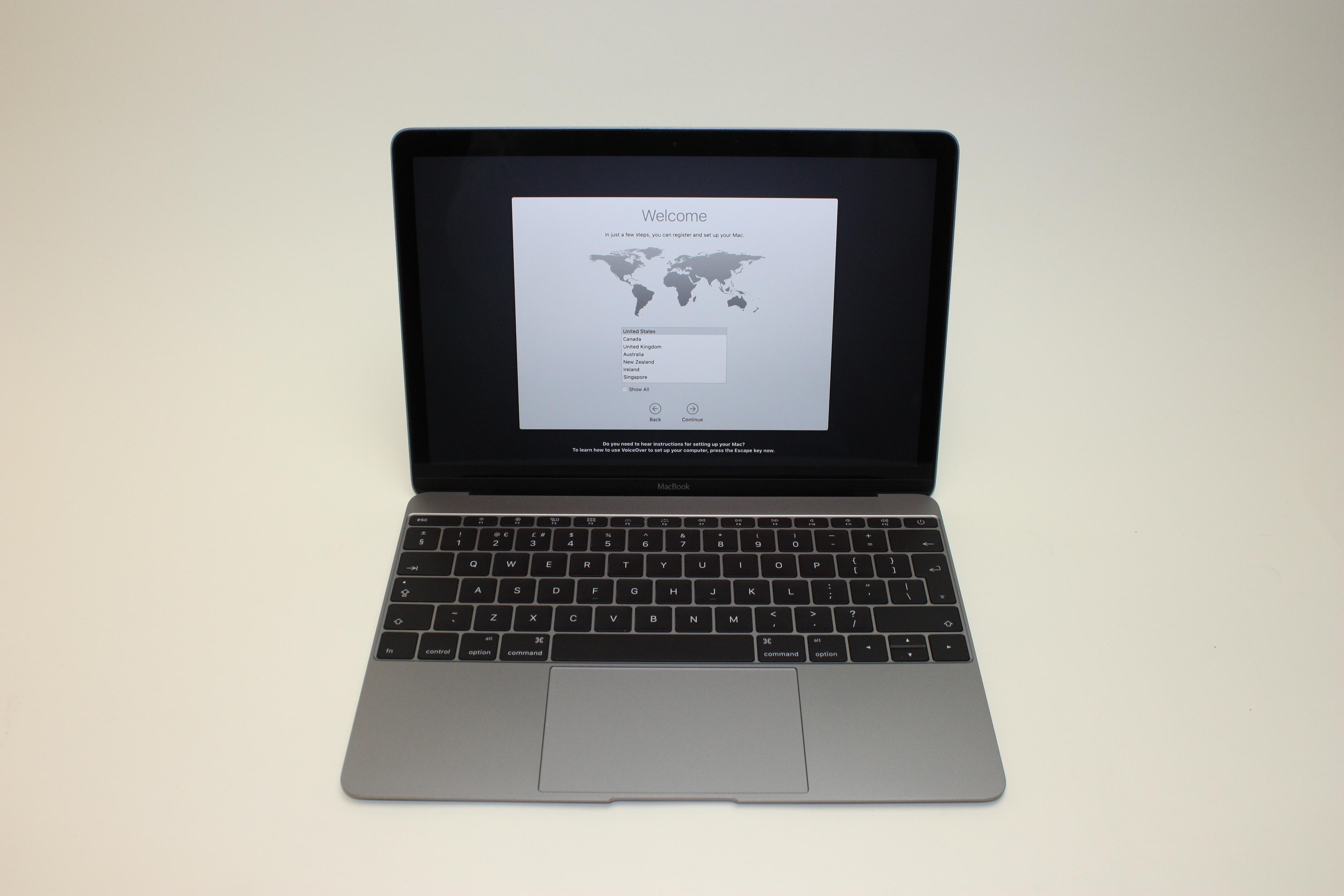 MacBook 12-inch Retina, 1.3 GHz Core M (M-5Y71), 8 GB 1867 MHz DDR3, 256 GB Flash Storage, image 1