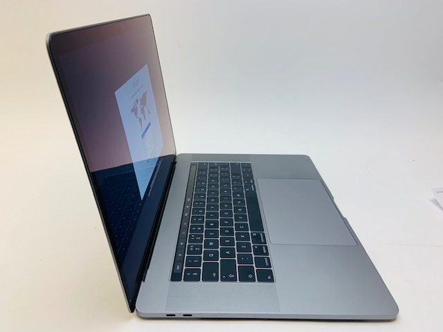 "MacBook Pro 15"" Touch Bar Late 2016 (Intel Quad-Core i7 2.7 GHz 16 GB RAM 512 GB SSD), Space Gray, Intel Quad-Core i7 2.7 GHz, 16 GB RAM, 512 GB SSD, image 3"