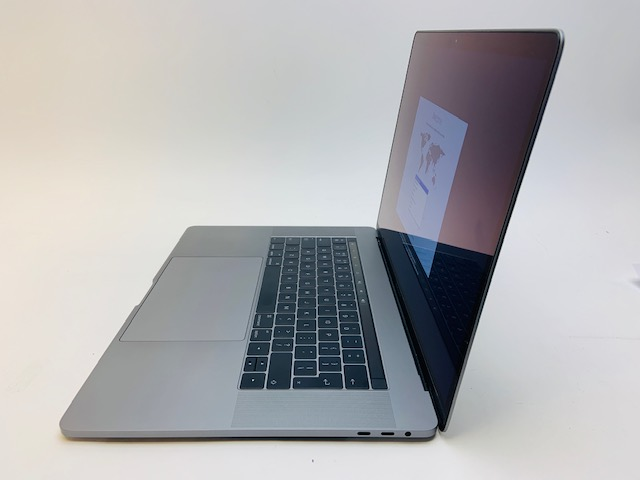 "MacBook Pro 15"" Touch Bar Late 2016 (Intel Quad-Core i7 2.7 GHz 16 GB RAM 512 GB SSD), Space Gray, Intel Quad-Core i7 2.7 GHz, 16 GB RAM, 512 GB SSD, image 4"