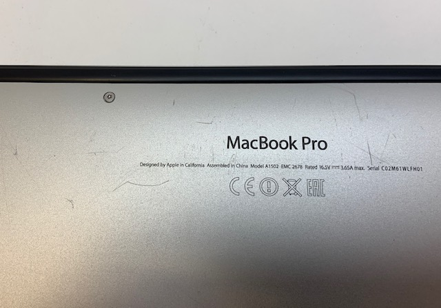 "MacBook Pro Retina 13"" Late 2013 (Intel Core i5 2.6 GHz 8 GB RAM 512 GB SSD), Intel Core i5 2.6 GHz, 8 GB RAM, 512 GB SSD, image 11"