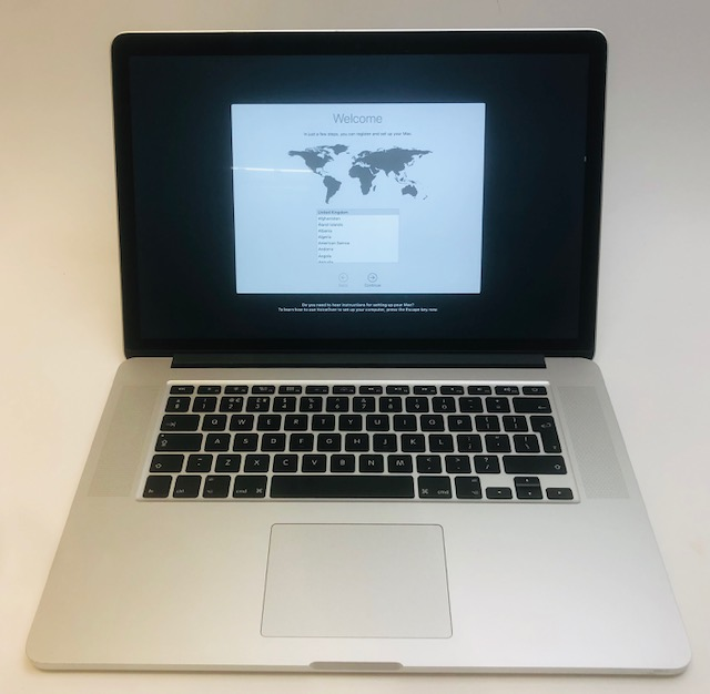 "MacBook Pro Retina 15"" Mid 2015 (Intel Quad-Core i7 2.5 GHz 16 GB RAM 512 GB SSD), Intel Quad-Core i7 2.5 GHz, 16 GB RAM, 512 GB SSD, image 1"