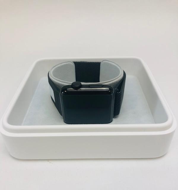 Watch Series 2 Steel (42mm), Black Stainless Steel, image 2