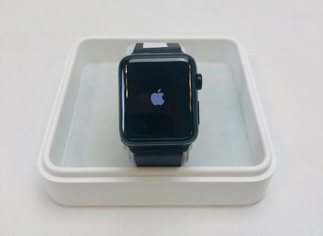 Watch Series 2 Steel (42mm), Black Stainless Steel, image 1