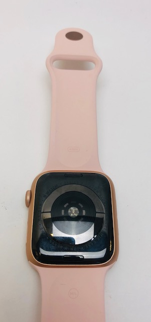 Watch Series 4 Aluminum (44mm), Gold, Pink Sand Sport Band, image 2