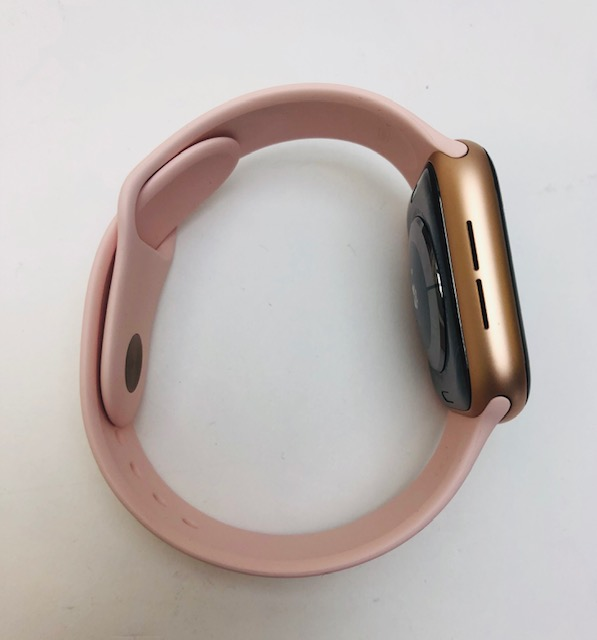Watch Series 4 Aluminum (44mm), Gold, Pink Sand Sport Band, image 3
